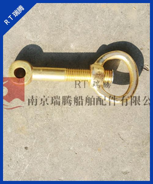 铜质不锈钢压紧羊角环形活节